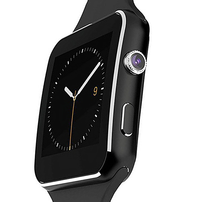 Generic X6 - Smart Watch Phone MTK6260 0.3MP Camera - Black