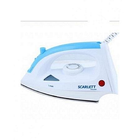 Scarlett Steam Iron Box - 1200W - White & Blue
