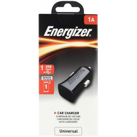 ENERGIZER CAR CHARGER 1A +Micro USB Cable-Black