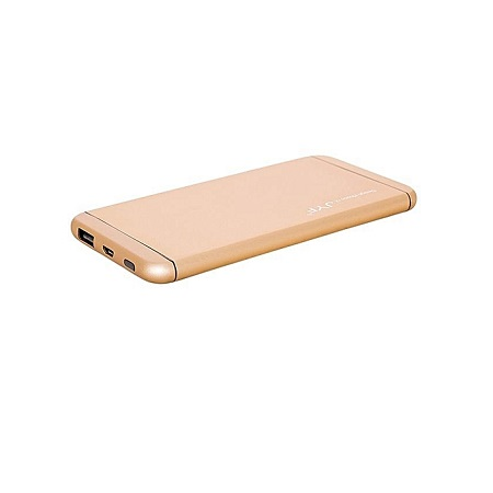 Generic Power Bank - 20,000 mAh - Super Slim Design With Polymer Battery - Gold