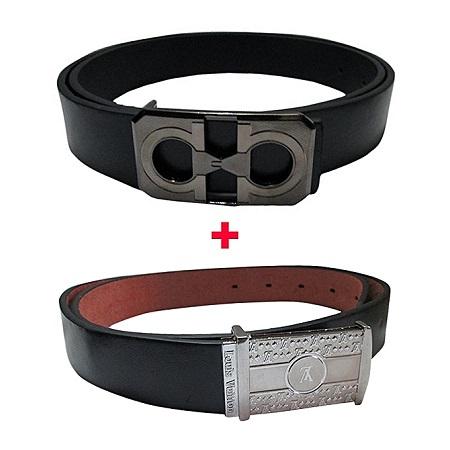 2 Men Belt -black