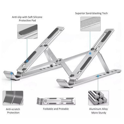 Portable Foldable Computer Support Laptop Stand