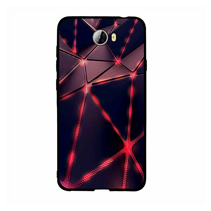 Huawei Y5 2 II Clear Soft TPU Case Multi color