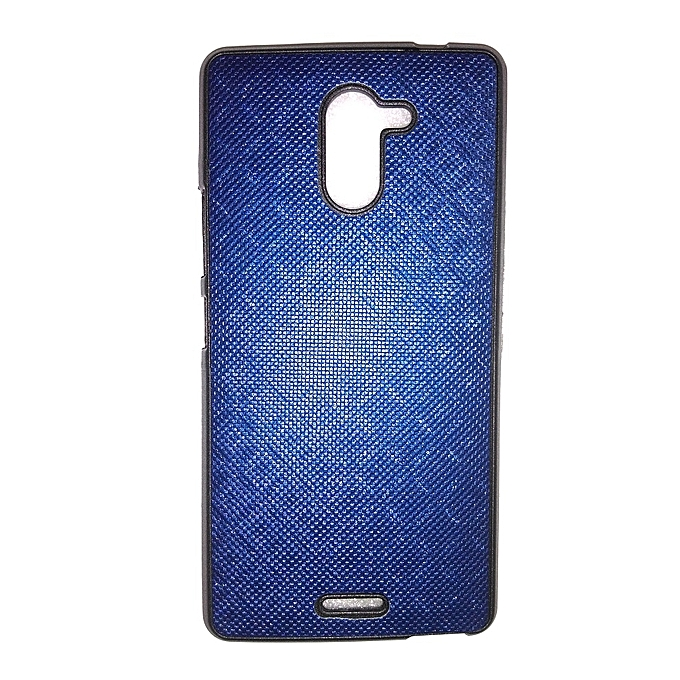 X557 Hot 4 - Back Cover – Navy blue