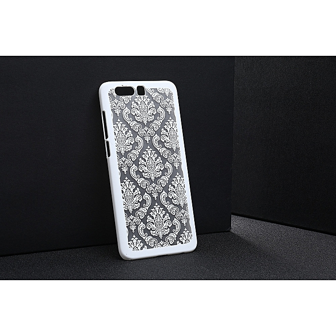 Huawei Honor 9 Retro Floral Cover- White