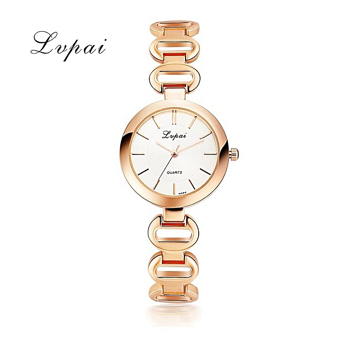 Mens Tungsteen braceletLVPAI Ladies Watches For Women Dress Bracelet Female Clock Hours Quartz Watch Rose Gold Watch Casual Women's Watches Wristwatch Silver