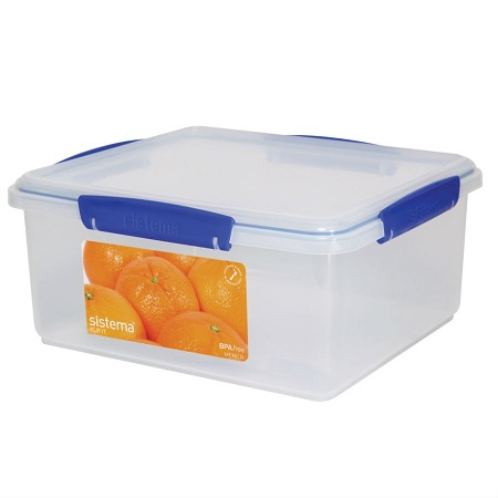 Sistema KLIP IT Food Storage Containers with Blue Clips