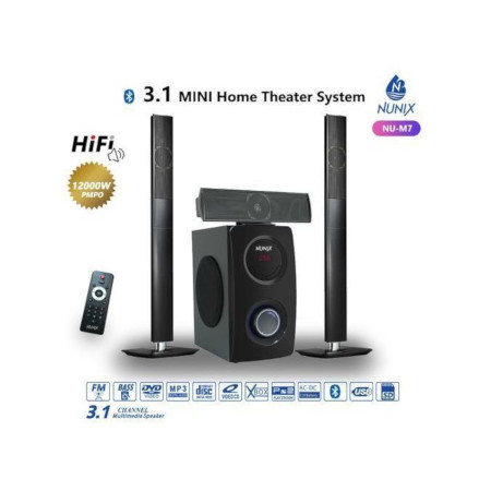 Nunix HI-FI Home Theater Speaker With Bluetooth Tall Boy