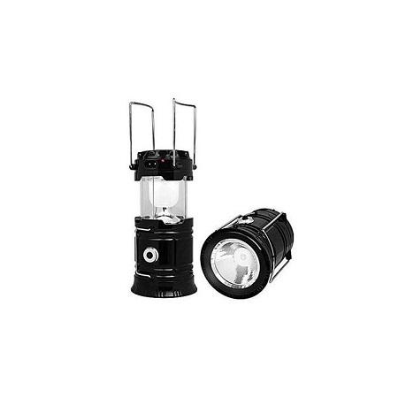 Hiking Solar-Electric Night Light Lamp Rechargeable Fishing Lantern Bright LED Flashlights