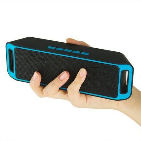 Wireless Megga Bass Bass Subwoofer Bluetooth Stereo Speakerwith - Mem Card, USB, AUX ,FM Radio, Mic