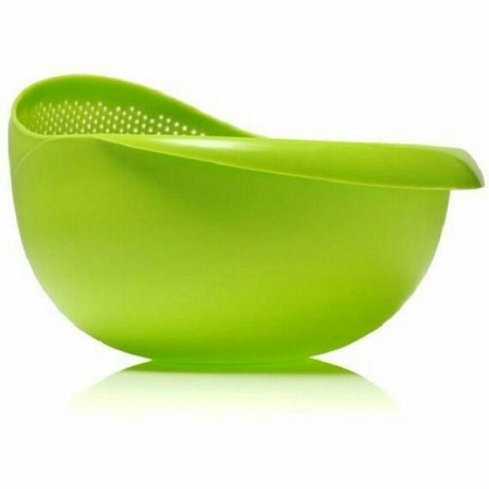 Rice and Vegetable drainer green