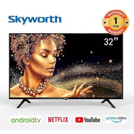 Skyworth 32E10-32 Inch Smart Android TV NetflixYoutubeGooglePlay Prime Video