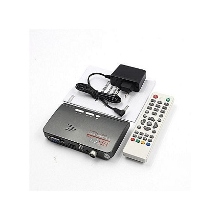 Digital TV Box DVB- T2 Receiver TV COMBO DIGITAL - Black/grey