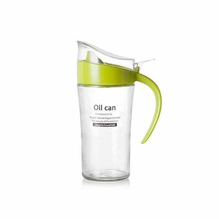 Kitchen Tool Acrylic European Olive Oil Can Bottle Vinegar Dispenser Soy Storage Pot