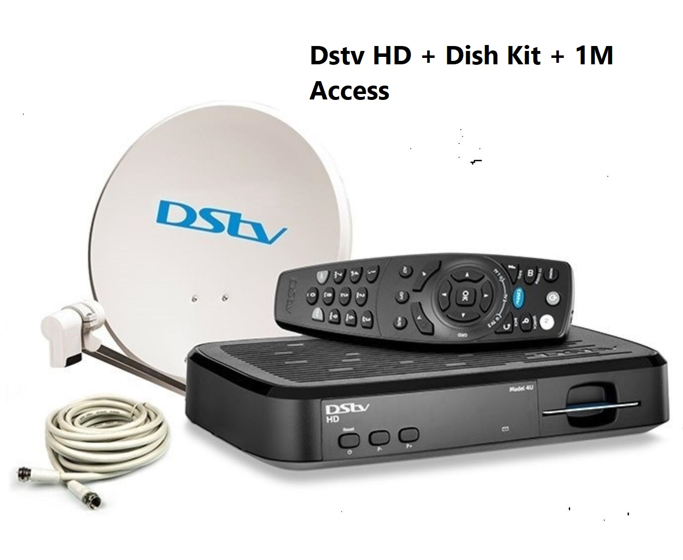 Dstv HD + Dish Kit + 1M Access