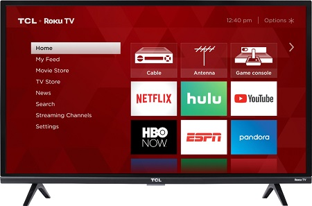 TCL 32 Inch,Smart Android Digital,Full HD TV(32S6500)