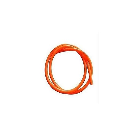 Generic Gas Delivery Hose Pipe - 2mtrs Orange and 2 Hose clamp