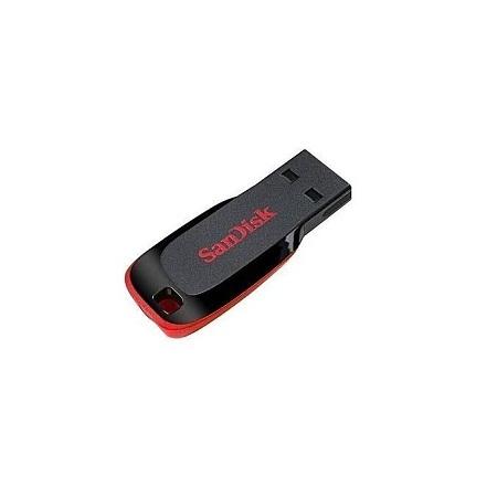 Sandisk CRUZER BLADE Flash Drive - 32GB+Free universal OTG