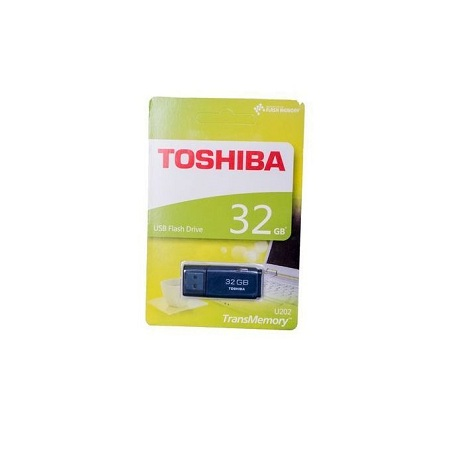 Toshiba 32 GB - Flash Disk - Blue