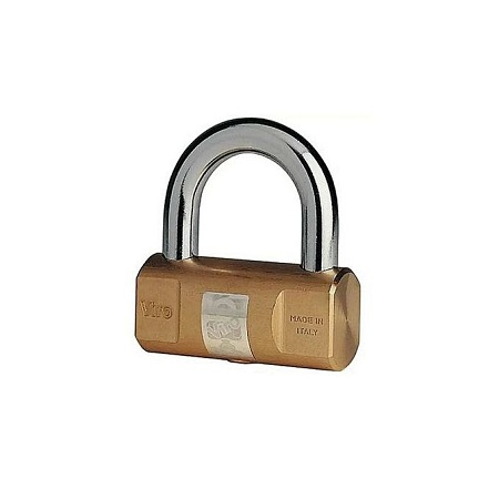 Viro Solid Brass Cylindrical Padlock 104