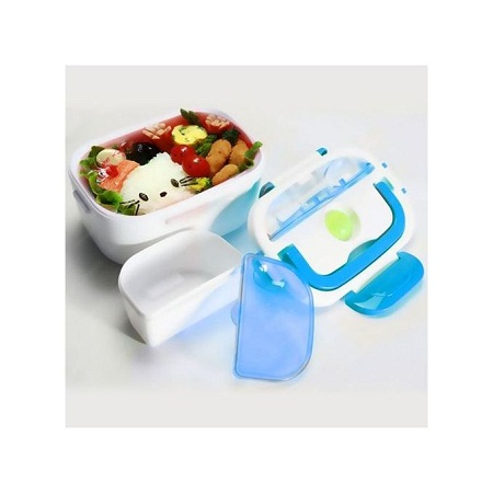 Generic Electric Lunch Box - White & Blue