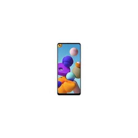 Samsung Galaxy A21s 6.5 Inch 64GB ROM +4GB RAM Dual Sim Black +Free Back Cover
