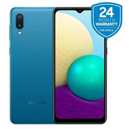 Samsung Galaxy A 02, 6.5 Inch 32GB + 2GB RAM (Dual SIM), 5000mAh, Blue