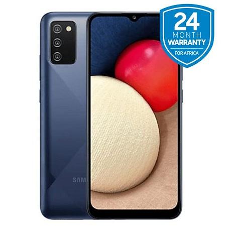 Samsung A02S, 6.5 Inch 3 GB + 32 GB (Dual SIM) 5000 MAH - Blue