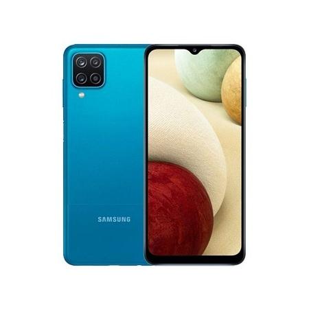 Samsung Galaxy A12, 6.5 Inch 4GB RAM + 128GB (Dual SIM), 5000mAh, Blue