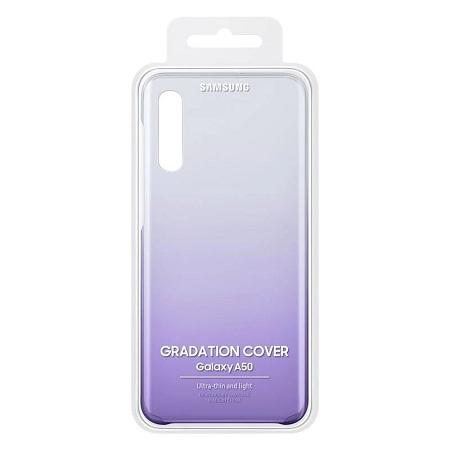 Samsung Galaxy A50 Silicone Cover/Case - Violet