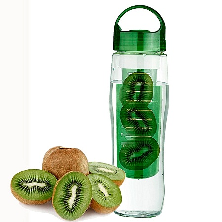 00ML Sports Plastic Fruit Infuser Water Bottle Cup BPA Free Filter Juice Maker