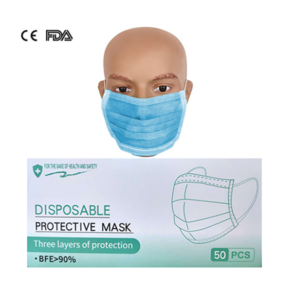 Disposable Face Mask - 50 PCS