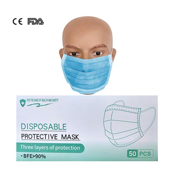 Disposable Face Mask - 50 PCS