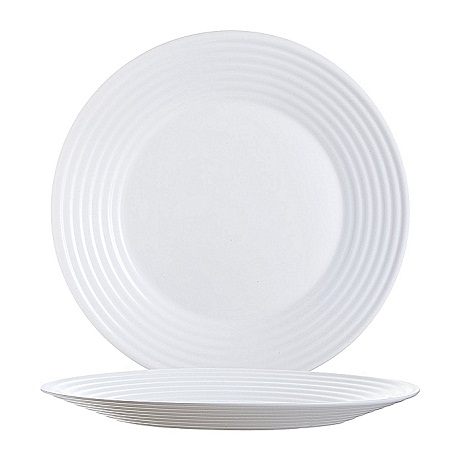 LUMINARC Harena Dinner Plates 25cm – Set of 6