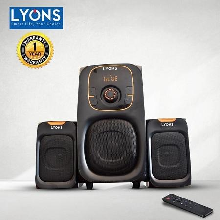 Lyons ELP-2504 2.1CH Multimedia Bluetooth Speaker
