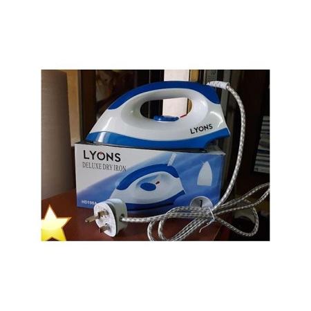 Lyons White & Blue Ironing Box