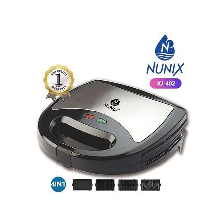 Nunix 4 In 1 Sandwich Maker