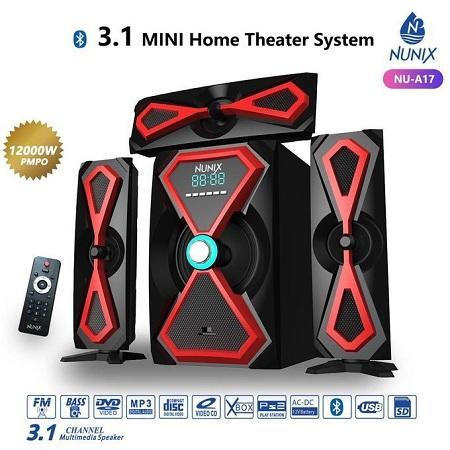 Nunix A17 3.1 CH Home Theatre Speaker System