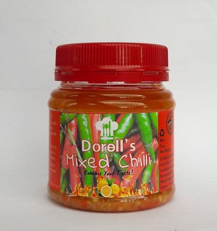 Dorell's Mixed Chilli- Lime 200g ( Pilipili ya Kukaanga )