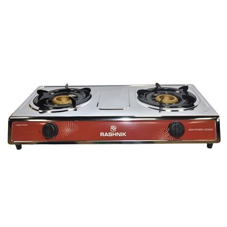 Rashnik Two Gas Burner Cooker