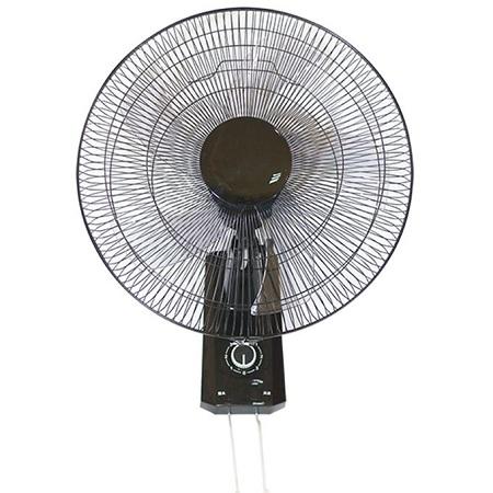 Rebune 18 Inch Wall Fan - Black