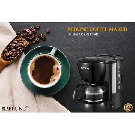 Rebune 2in1 Blender 1.25l With Grinding Machine 50G - White