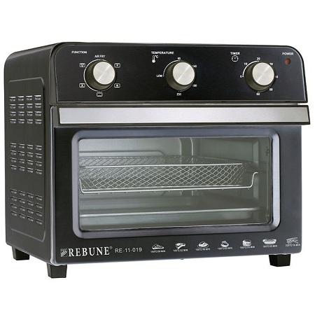 Rebune Air Fryer Oven, 22L - Black