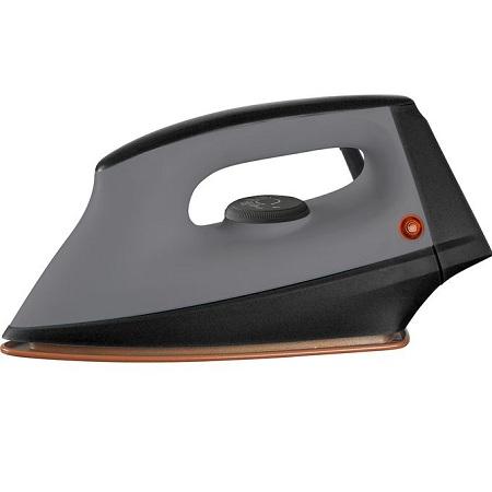 Rebune Dry Iron, 1000-1200W - Grey & Black