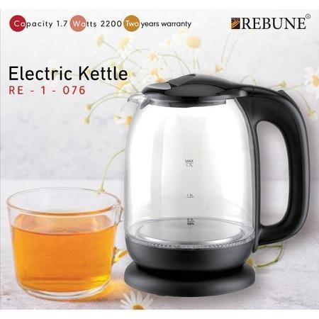 Rebune Electric Kettle - Black