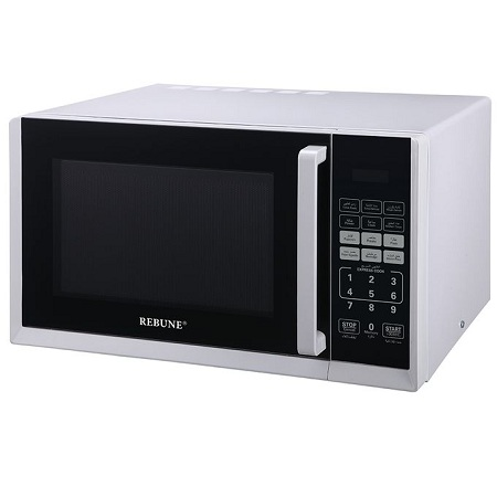 Rebune Microwave Oven, 25L/800W - White