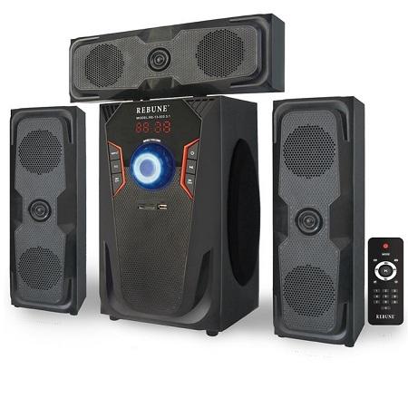 Rebune Multimedia Speaker System, 60W - Black