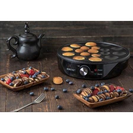 Rebune Pancake Maker - Black