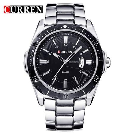 Top Brand fashion watch quartz watch male relogio masculino men sports Analog Casual 8110 QWERT