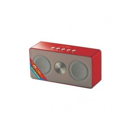 Wster WS-768BT Bluetooth Portable Wireless Speaker - Red